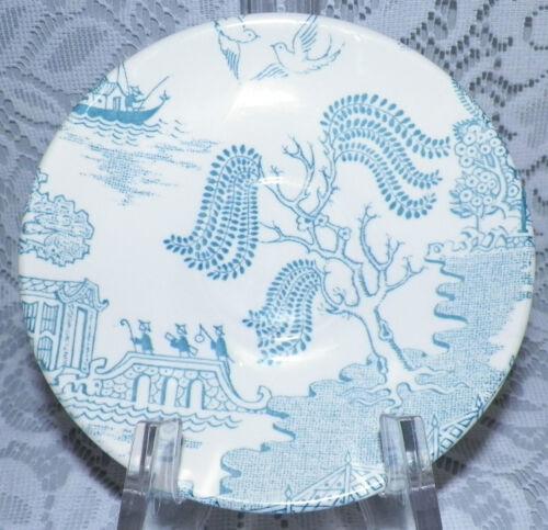 "Vintage CROWN LYNN Blue Willow Pattern Tableware SAUCER  6/"" Diameter"
