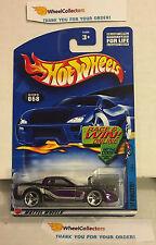 '97 Corvette #68 * Purple w/ 3spoke Rims * 2002 Hot Wheels * h39