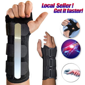 Medical-Breathable-Carpal-Tunnel-Splint-Wrist-Support-Brace-Arthritis-Sprain-R-L