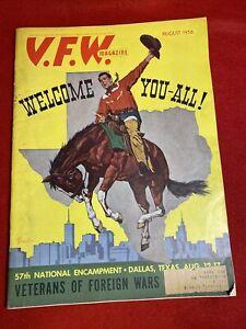 1956-August-VFW-Magazine-Dallas-Texas-Preview-Phillip-Vessels-Cover