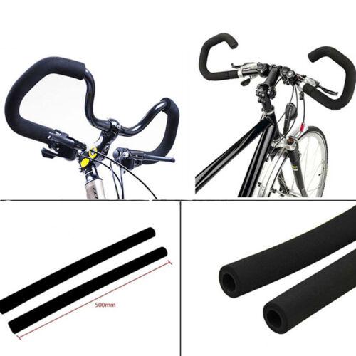 2X Fahrradgriffe Griffbezug 500mm Fahrradgriff Fahrrad Lenkergriffe Griffe Neu