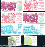 Royal Mail stamp booklet booklets x 8 1983