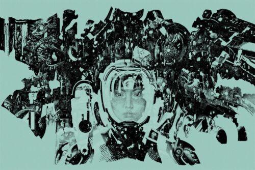 Pacific Rim Poster - Light Blue - Mondo - Vania Zouravliov - Limited Edition