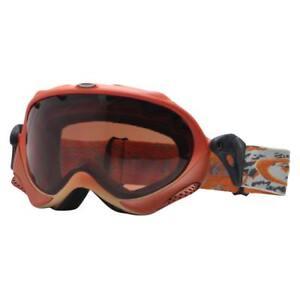 ba21bfab05 Oakley 02-616 WISDOM Orange Military Fade w  VR28 Lens Rare Snow Ski ...