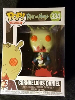 Funko Pop Animation cornvelious Daniel avec Szechuan sauce Rick and Morty #334