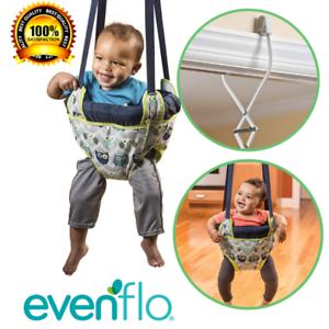 Details About Baby Door Jumper Owl Bouncer Doorway Swing Jump Up Seat  Exercise Infant Toddler