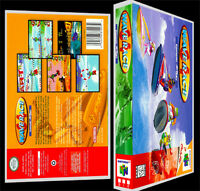 Wave Race 64 - N64 Reproduction Art Case/box No Game.
