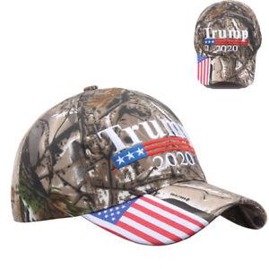 63ec10c934fcb5 Details about MAGA President Donald Trump 2020 Keep Make America Great  Again Hat Camo Cap USA
