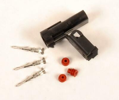 Flat Pin Plug only for Fuel Solenoid, solenoid side, male pins
