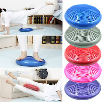 Stability Disc Yoga Balance Pad Wobble Cushion For Ankle Knee Board With Pump