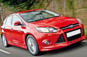 Ford-Focus-Mk3-Zetec-S-Mira-Frontal-parachoques-Spoiler-Falda-Bastidor