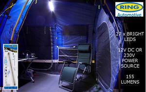 Image is loading New-Ring-Flexi-Light-C&ing-Tent-Caravan-Awning- & New Ring Flexi-Light Camping Tent Caravan Awning Light Strip ...