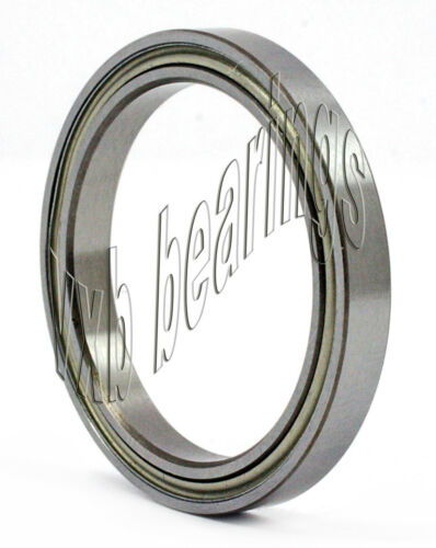 S6801ZZ Bearing 12mm x 21mm x 5mm Stainless:Shielded