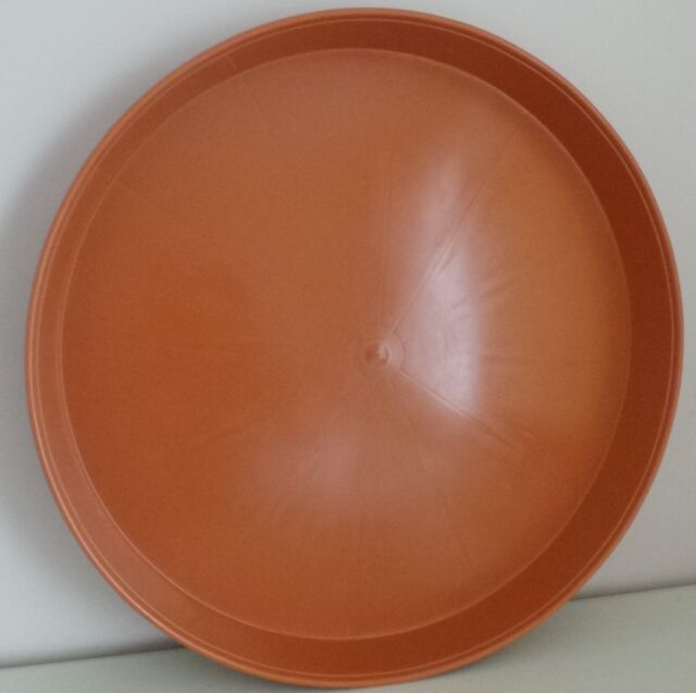 EVER SO SLIGHTLY BIGGER HUGE 50CM HEAVY DUTY PLANT POT SAUCER / WATER TRAY NEW