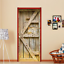 3D-Retro-Wood-Door-Wall-Wrap-Mural-Photo-Wall-Sticker-Decal-Wall-Home-Decoration thumbnail 5