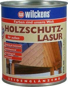 wilckens holz holzschutz lasur holzschutzgel holzwurm ex 750ml 2 5l 5l farbwahl ebay. Black Bedroom Furniture Sets. Home Design Ideas