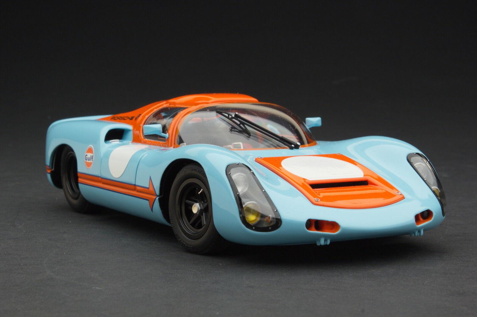 Exoto Racing 1 18   Gulf Porsche 910   Vintage Racing   MTB00064A