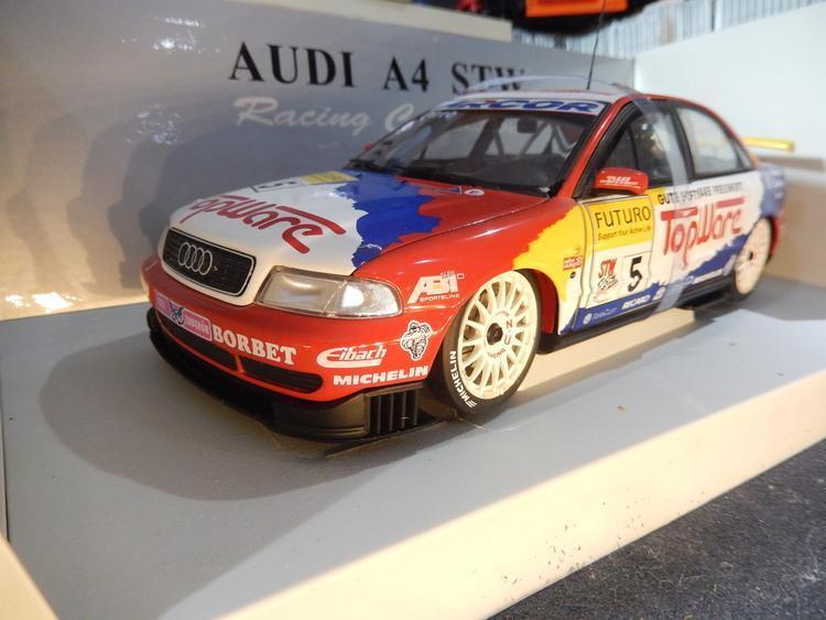 1:18 UT Models Audi A4 STW '98  5 Pirro 'Topware'