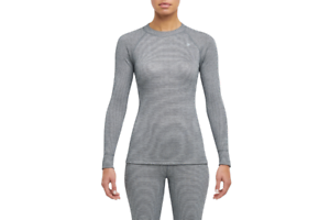 Details about  /Thermowave Originals Térmico Ropa Camisa Gris Mujer Deporte TW0000ORGN4112