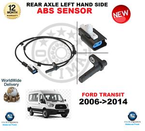 para-FORD-TRANSIT-ABS-Sensor-2006-gt-2014-eje-trasero-Lado-Izquierdo-Calidad-OE