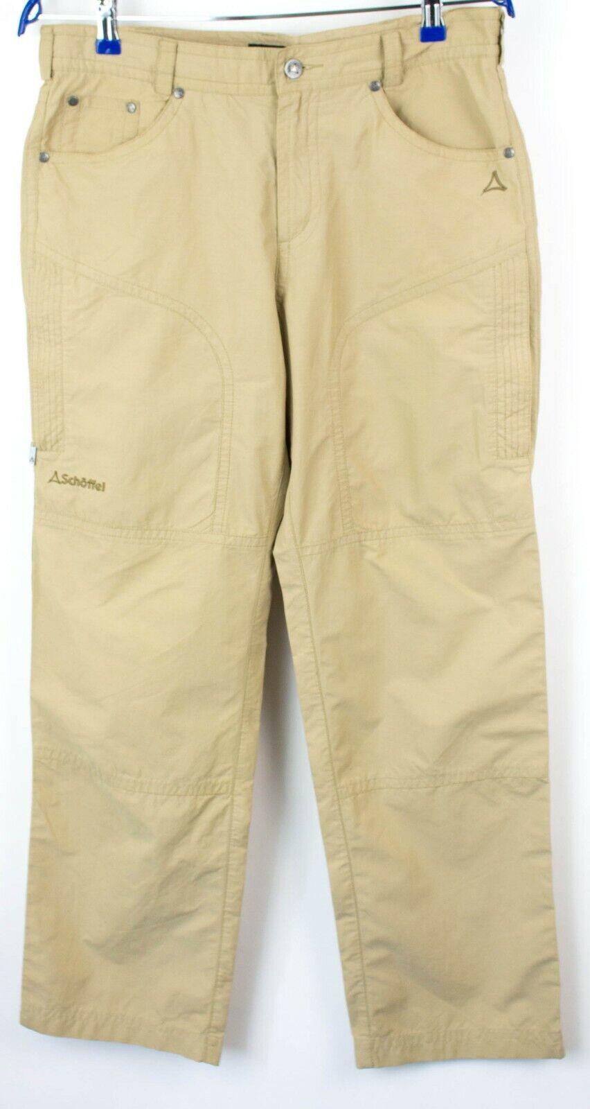 SCHOFFEL Men Matek Outdoor Trousers Pants Size 48 (W33 L30) NZ129
