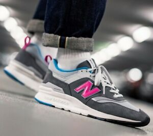 Details about New New Balance 997H Mens sneaker gray pink all sizes