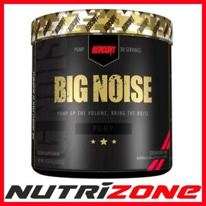 Redcon 1 Big Noise Stim Free Pre-workout Stimulant Intense Muscle Pump & Focus-afficher Le Titre D'origine