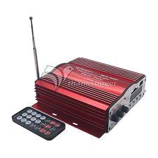 Kinter MA-200 USB SD Amp 480W 4CH Home Car HiFi Digital Stereo Power Amplifier