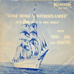 TOM-JIM-and-GARTH-on-1960s-Melbourne-WG-3222-Come-Home-Newfoundlander-w-PS