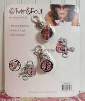 Set Of 2 Twist & Pout - French Twist - Charm Lip Moisturizer Gloss Spf 20 Sealed