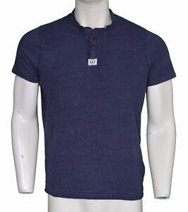 Abercrombie-amp-Fitch-Muscle-Grandad-Shirt-Men-039-s-Size-Large