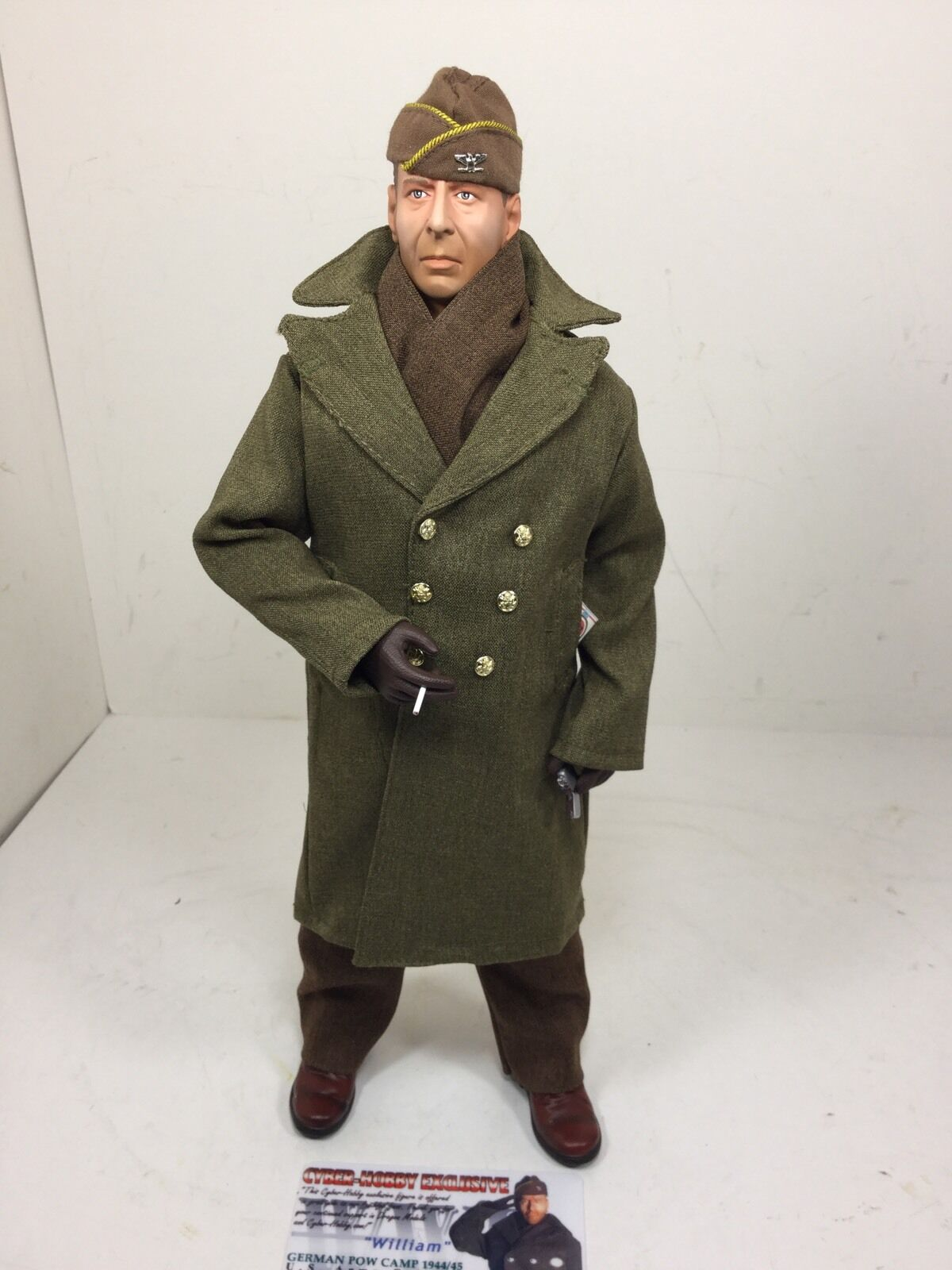 1 6 DRAGON CYBER-HOBBY COL HART BRUCE WILLIS  HART'S WAR  POW WW2 BBI DID 21st