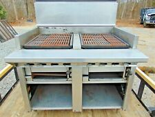 Commercial Gas Kitchen Broiler Grill Stove Montague Uf 48r
