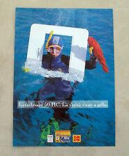 F078 - Advertising Pubblicità - 1992 - KODAK EKTACHROME 50 HC PELLICOLA
