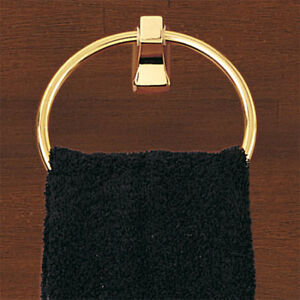 Better Homes Brass  TOWEL Ring CANDLESTICK PARK II