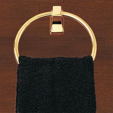 Better Homes Brass  TOWEL Ring CANDLESTICK PARK II