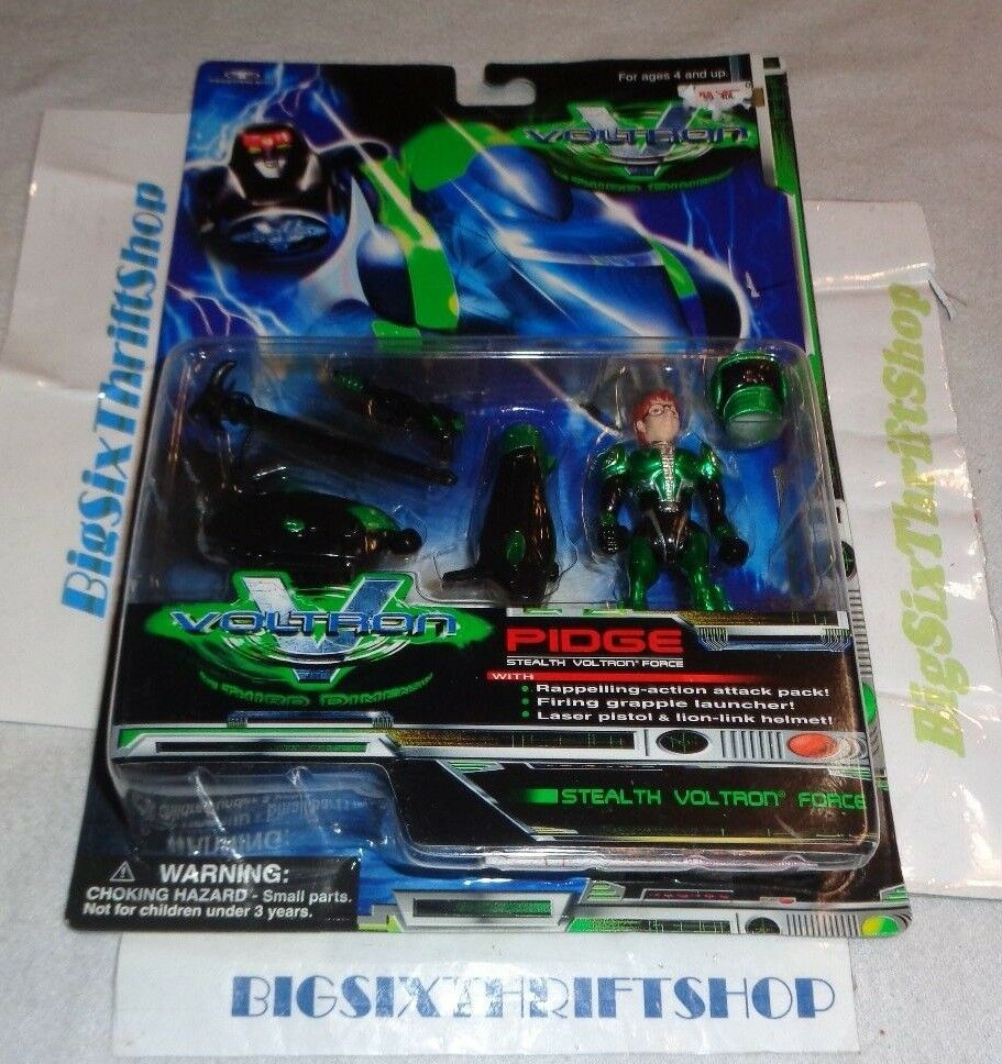 1999 Voltron The Third Dimension PIDGE Stealth Force action figure Trendmasters