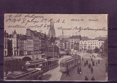 GroßEr Ausverkauf heumarkt- europa:11351 Gelaufene Ansichtskarte Köln