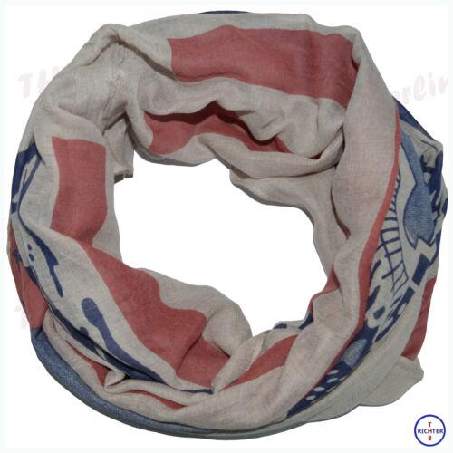 XXL Schal Tuch Halstuch Loopschal Vintage Amerika//USA Flagge Loop Schals Tücher
