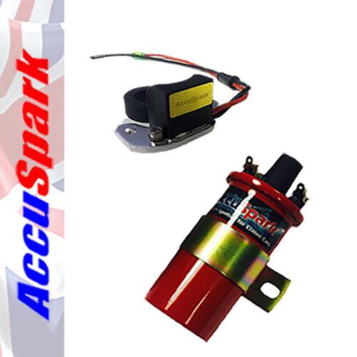 Accuspark Elektronische Zündung Kit /& Rot Sports Spule für Alfa Romeo