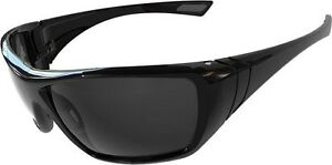 Bolle Hustler HUSTPSF Safety Glasses Anti / Scratch Smoke - 2,5 or 10 Pairs