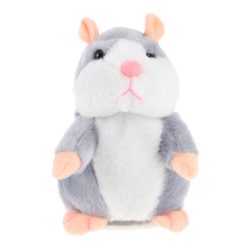 Baby`s Lovely Electric Talking Plush Cartoon Hamster Interesting Kids Toys Gift