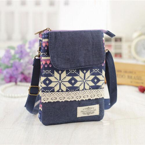 Women Mini Shoulder Cross Body Bag Mobile Phone Tote Messenger Satchel Bag Purse