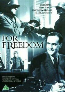 For-Freedom-DVD-1940-Will-Fyffe-Anthony-Hulme-World-War-2-Movie-Rare-OOP