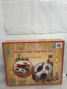 Teamson Kids - Pirate Table Top Play Set 691201885444