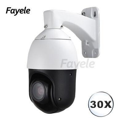 IP66 Security H.265 HD 1080P PTZ IP Camera Speed Dome 30X Zoom 2MP P2P IR 100M