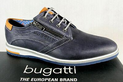 Bugatti Herren Schnürschuh Schnürschuhe Halbschuhe Sneaker blau 65103 NEU! | eBay