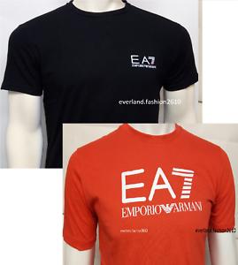 Nuevo-Emporio-Armani-Mangas-Cortas-Escote-Redondo-Camiseta-Para-Hombres