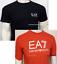 Nuevo-Emporio-Armani-Mangas-Cortas-Escote-Redondo-Camiseta-Para-Hombres miniatura 1