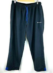 Vintage-Champion-Mens-Size-XL-Grey-Tracksuit-Bottoms-Retro-Track-Pants-90s
